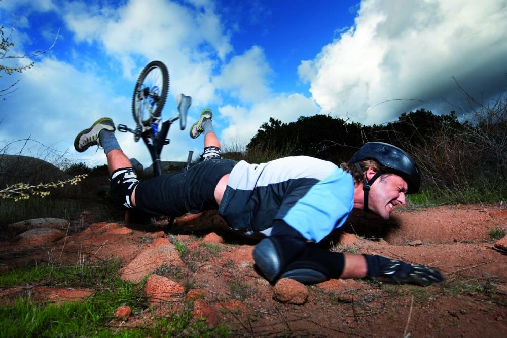 Stürze sind häufige Ursachen für schwere Verletzungen im Bereich des Hüftgelenks. © stockfoto.com